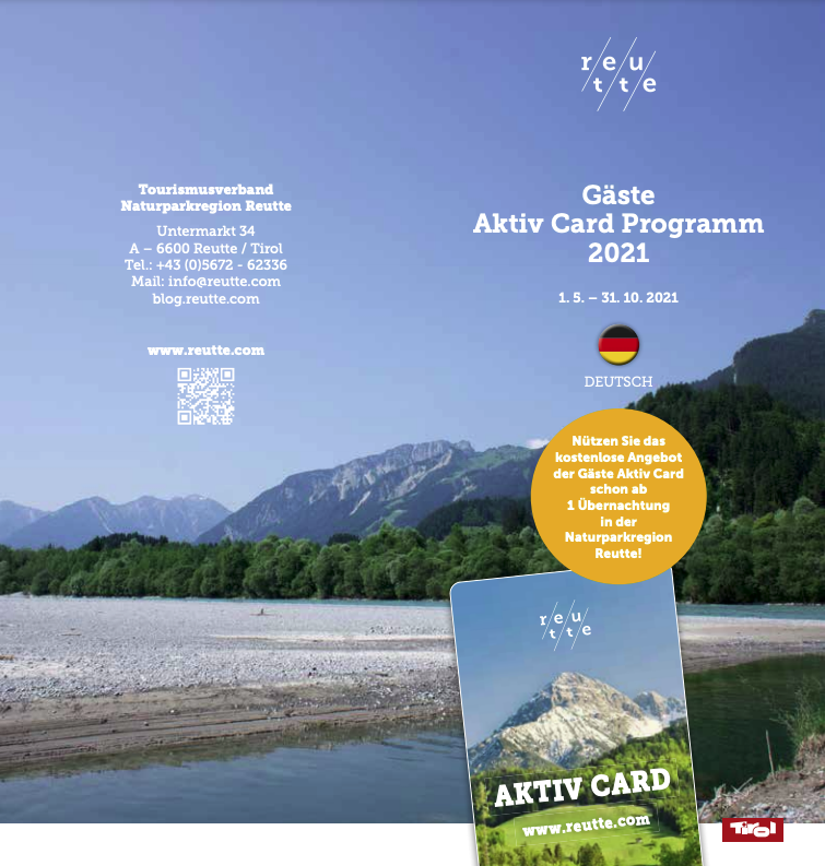 Aktiv Card Sommer 2021 (deutsch)